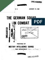 German Squad in Combat