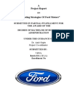 Project on Ford Motors