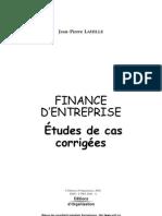 Etudes Finance Extraits