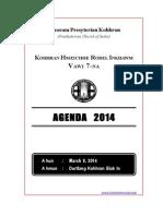 Kohhran Hmeichhe Rorel Inkhawm 2014 Agenda