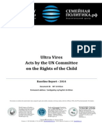 Ultra Vires acts by UN Committee on the Rights of the Chilf - 2014