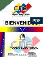 Exposición PODER ELECTORAL Prof. Evelyn Medina