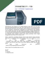 Spektrofotometri Uv