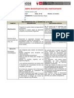 Diario Campo Investigativo Participante