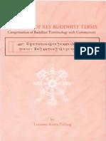 Lotsawa Kaba Paltseng a Manual of Key Buddhist Terms
