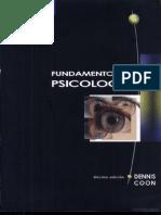 Fundamentos de Psicologia - 10ma Edicion - Dennis Coon