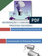 Informação e Comunicação no Processo decisório