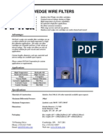 Wedge Wire Dp Filter
