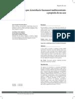 Sepsis Por Acinetobacter Multiresistente