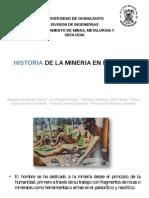 Historia de La Mineria en El Mundo