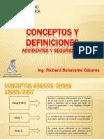 Conceptos y Definiciones Generales