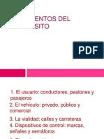 3. ELEMENTOS DEL TRÁNSITO