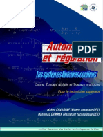 Cours Automatique Regulation