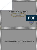 The Quarry Device of ed leedskalnin