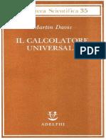 Davis Martin Il Calcolatore Universale Da Leibniz a Turing