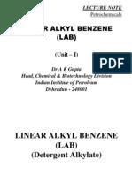 LAB(Detergent Alkylate) Presentation