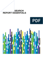Rc Equity Research Report Essentials CFA Institute