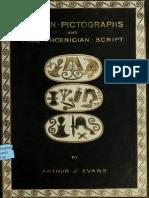 - ARTHUR J. EVANS - Cretan Pictographs, 1895