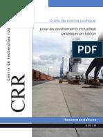 CRR Code de bonne pratique formulation enrobè