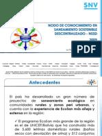 Nodo de Conocimiento en Saneamiento Sostenible Descentralizado - NSSD