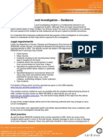 Incident Reporting and Investigation Guidance