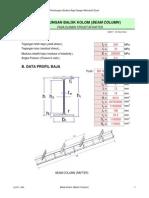 3. Perhitungan Kolom Lentur Dua Arah (Biaxial) Kolom Pada Portal Bangunan