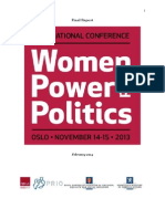 Women, Power and Politics 2013