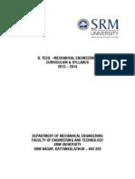 Btech Syll Mechanical r2013 14