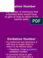 oxidation numbers bju