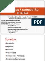 MOTORES À COMBUSTÃO INTERNA - Apresentação final MáqTérm II
