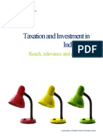 India Taxation and Investment 2012