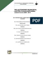 Plan de Desarrollo Chaguarpamba
