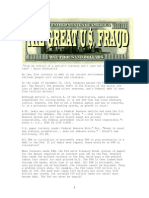 The Great U.S. Fiat Currency FRAUD