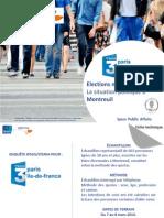 Enquete Ipsos Steria Montreuil Municipales 2014
