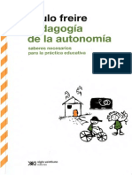 Freire, Paulo - Pedagogia de La Autonomia Contenido