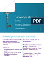 13012014 Knowledge Alliances KA2 Erasmus- En