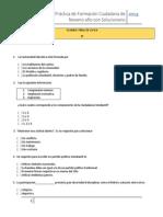 Examen de Zapandí (noveno año) de práctica 2014