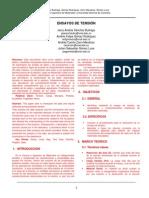 Informe #2 - Ensayos de Tensión