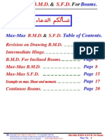 04 - (Beams) Max-Max B.M.D & S.F.D. for Beams