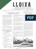 LLOIXA. Número 22, abril 1983. Butlletí informatiu de Sant Joan. Boletín informativo de Sant Joan. Autor