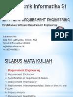 1. Pendahuluan - Software Requirement Engineering - Teknik Informatika S1