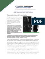 La prostitución un trabajo en Colombia. (Recuperado)