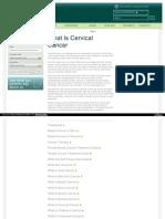 Cervical Cancer Page