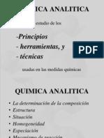 Quimica analitica introducción