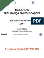 ABINEE IEC 60364 Seguranca Em Edificacoes