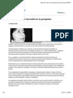 Anatel propõe incentivos à pesquisa