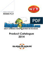 Anglermania Trading LTD Product Catalogue 2014