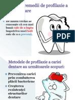metode și remedii de profilaxie a cariei dentare