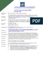 ACNUExpress Vol.4 No.15 - du 1 au 15 Octobre 2009