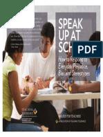 Speak Up at School